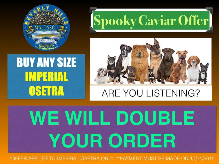 Osetra Caviar Halloween Special