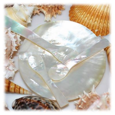 Caviar Spoon in Carolina mother of pearl buy mother of pearl online mop spoon, mother of pearl spoon, mother of pearl dish, mother of pearl plate, mop plate
