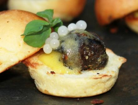Beverly Hills Caviar Imperial Escargot Caviar Recipe By Chef Keven Lee