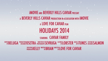 Beverly Hills Caviar 2014 Holidays Caviar Trailer Movie