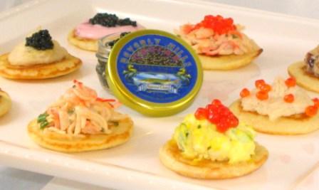 Free Caviar Tasting Dec 16, 2010 in Los Angeles
