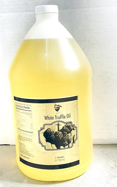 White Truffle Oil 1 Gallon ($120/Gallon)