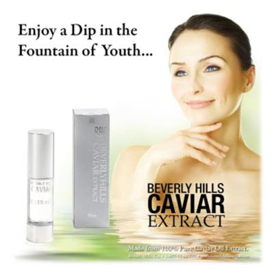 Caviar Extract Skin Care in Toluca Lake California  Caviar Facial, Caviar Serum, Pure Caviar Oil
