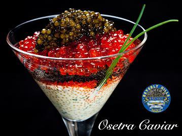 Golden Osetra Caviar 200g (Blue Tin)