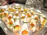 Smoked Salmon Wraps :: Smoked Fish :: Smoked Salmon