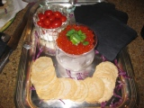 Red Caviar on ice :: Red Salmon Caviar :: Red Salmon Roe