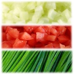 Freshly Diced Tomatoes Pack - Free Shipping and Handling Included