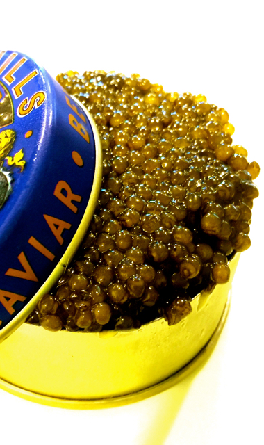 Imperial Osetra Caviar (100g  Metal Tin) - Free Shipping and Handling