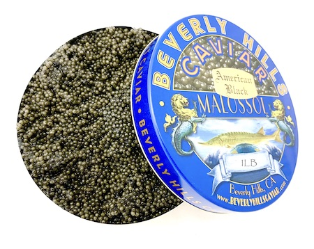 American Black Caviar - 36oz - 1kg BHC Blue Tin - $25/oz