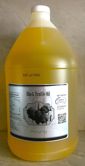 Black Truffle Oil Case of 6 x 1 Gallons With Free Nationwide Delivery