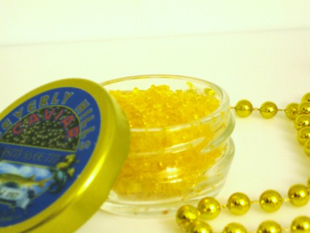Citrus - Yellow Sushi Caviar 1.1 Pound Pail