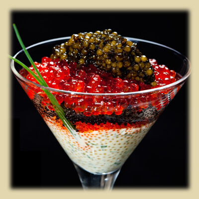 Royal Russian Osetra Caviar 400g