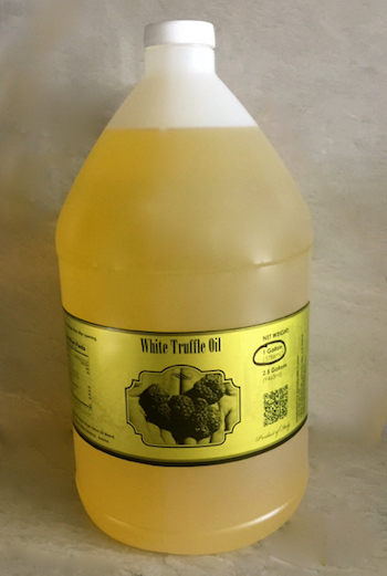 White Truffle Oil Case of 6 x 1 Gallon - $110/Gallon