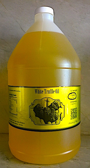 White Truffle Oil 1 Gallon With Free Nationwide Delivery