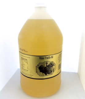 White Truffle Oil 1 US Gallons Case Of Six - Free Shipping and Handling Included